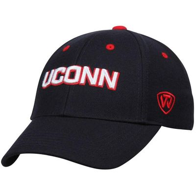 UConn Huskies Top of the World Dynasty Memory Fit Fitted Hat - Navy