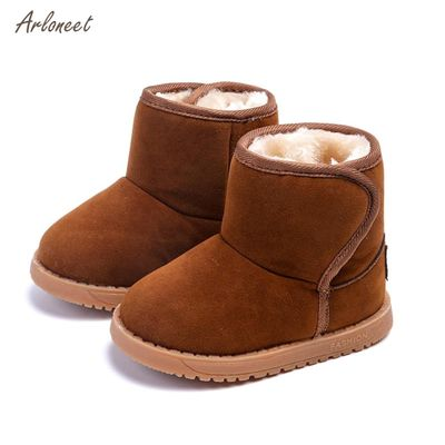 ARLONEETnew baby shoes winter outdoor Snow Boots For Baby Girl Boy Baby Shoes toddler shoes Warming girl boots zapatos bebe 2018