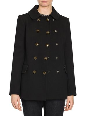 Dolce & Gabbana Double-Breasted Logo Button Jacket