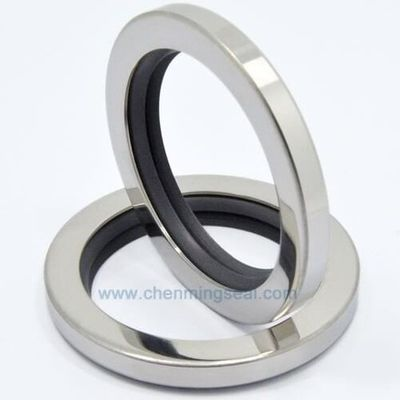 40*55*8 mm Rotary Shaft Oil Seal with Dual PTFE Sealing Lip Stainless Steel Ring 40*55*10 For Compressors Pumps Mixers Actuators