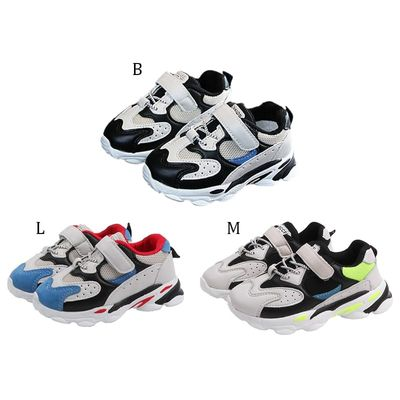 Children Girl Boy Sport Shoes Fashion Breathable Anti-Slip Sneakers Kids Soft Soled Casual Sport Shoes