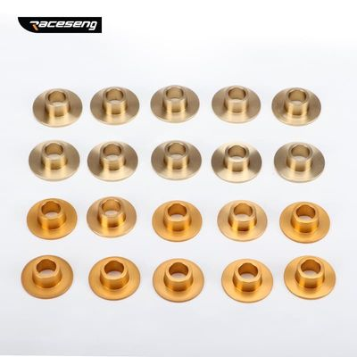 Subframe Rear Axle Rigid Collar control arm bushing For VW-Golf 5/6 Passat Magotan A3/S3 TT PQ35/PQ46 Forged Aluminum alloy