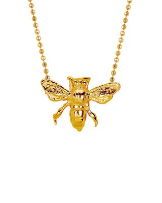 Johnny Was x Logan Holloway 18K Over Silver Bee Necklace