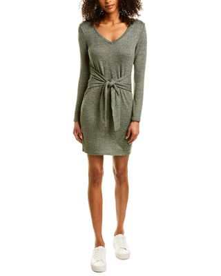 Bailey Blue Tie-Front Sweaterdress