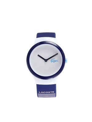 Lacoste Goa Resin, Stainless Steel & Silicone-Strap Watch