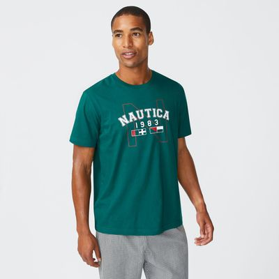 Nautica 1983 Logo Sleep T-shirt
