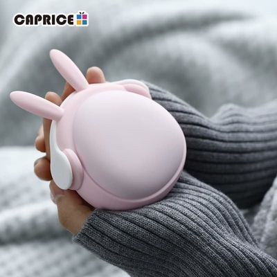 Cute Handwarmer Mini Hand Warmers for Girls Termofor Gumowy Portable Pocket Power Bank 6000mAh Battery Rechargeable WT-W6