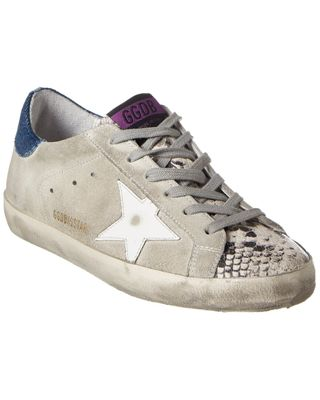 Golden Goose Superstar Suede & Leather Sneaker