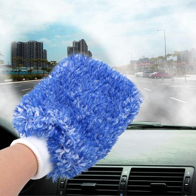 LEEPEE Auto Maintenance Paint Care Car Detailing Soft Sponge Washing Gloves Car Cleaning