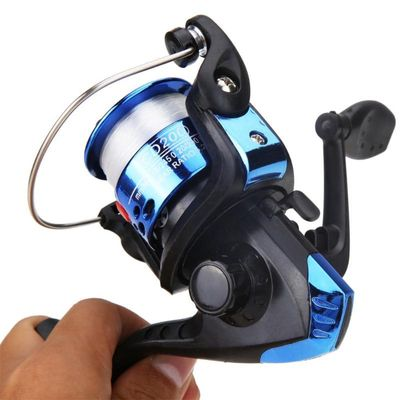 High Speed 5.1:1 Spinning Reel 3BB Ball Bearing Aluminum Fishing Reels Left/Right Interchange Reel Carp Fishing Wheel with Line