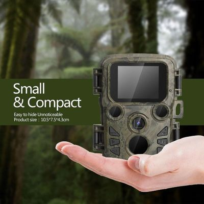 Mini300 Trail Camera Hunting Game 12MP 1080P Outdoor Wildlife Scouting Camera with PIR Sensor 0.45s Fast Trigger IP66 Waterproof