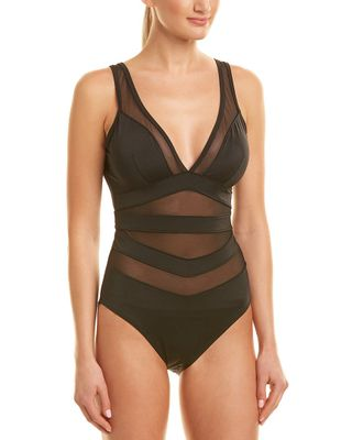 Ted Baker Mesh-Trim One-Piece