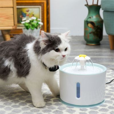 Automatic Cat Water Fountain For Pets Water Dispenser Cat Automatic Feeder Drink Filter Large Spring Drinking Bowl
