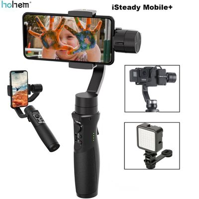 Hohem iSteady Mobile+ Plus 3-Axis Handheld Smartphone Gimbal Stabilizer for iPhone Andriod Huawei Samsung Smart Phones Gopro