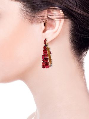 Saachi Pharaoh Beaded Drop Earrings