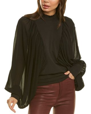 Why Dress Mock Neck Top