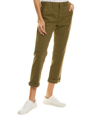 JOES Jeans The Trouser Dark Olive Ankle Cut Jean