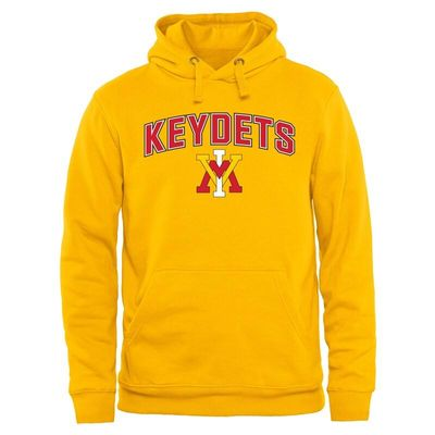 Virginia Military Institute Keydets Proud Mascot Pullover Hoodie - Gold