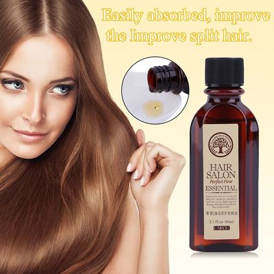 1pc 60ml Hair Care Moroccan Pure Argan Oil Moisturize & Increase Gloss Hair Oil Easily Absorbed Leave-in Hair Care Essential Oil