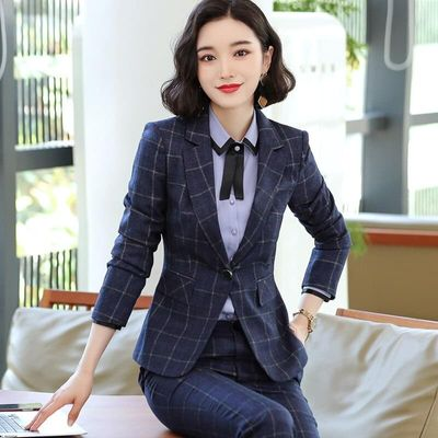 Women's Pants Clothing Women's New High-end Official High-end Long Sleeve Long Pants Office Women's Work Clothes  Maternity