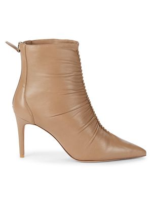 Alexandre Birman Susanna Leather Booties