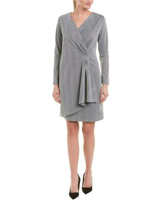 New York Collective Faux Wrap Dress