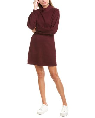 David Lerner Studio Collection Bishop Sleeve Sweaterdress