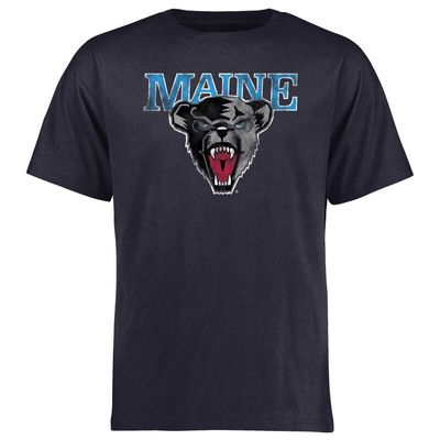 Maine Black Bears Big & Tall Classic Primary T-Shirt - Navy