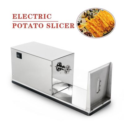 ITOP Electric Twister Tornado Spiral Potato Slicer Cutter Stainless Steel French Fries Cutter 110V 220V Vegetable Fruit Tools