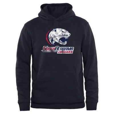 South Alabama Jaguars Big & Tall Classic Primary Pullover Hoodie - Navy