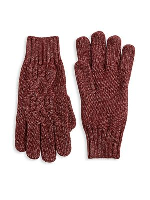 Nominee Cable-Knit Gloves