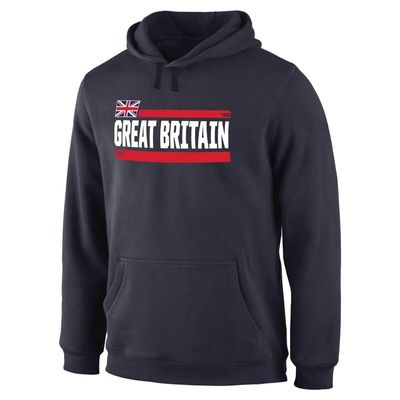 Great Britain Fanatics Branded Devoted Pullover Hoodie - Navy