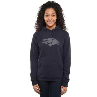 Nevada Wolf Pack Women's Classic Primary Pullover Hoodie - Navy