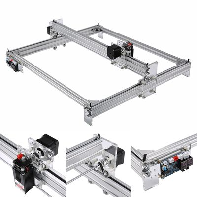 65*50cm Mini Laser Engraving Machine Wood Laser Engraver Cutter 1W 2.5W 5.5W 7W 10W 15W for Wood Metal Engraving Printer