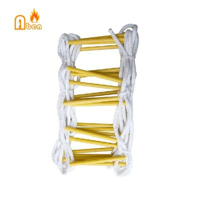 Free shipping high strength material 10 meter 33FT Free Shipping Fire Fighting ladder Folding fire escape ladder