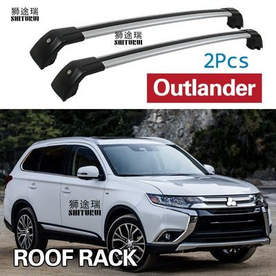 2 Pcs Roof Bars for Mitsubishi Outlander /PHEV SUV 2012-2020 Aluminum Alloy Side Bars Cross Rails Roof Rack Luggage Carrier