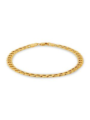 Saks Fifth Avenue Made in Italy 14K Yellow Gold Curb Chain Bracelet