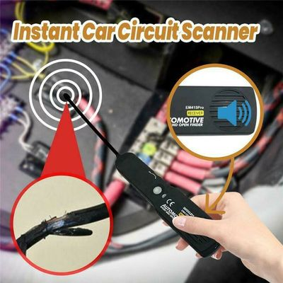 Instant Car Circuit Scanner Digital Diagnostic Tool Car Transmitter Automotive Cable Wire Tracking Finder Tracker Universal Tool