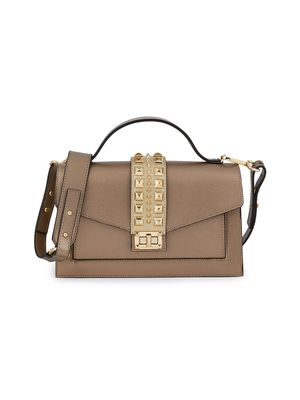 Valentino by Mario Valentino Adrienne Leather Crossbody Bag