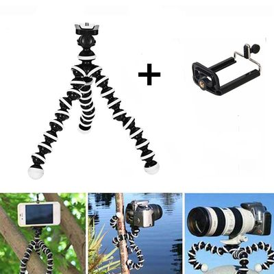 Octopus Flexible Tripod Stand Gorillapod for Phone Telefon Mobile Phone Smartphone Dslr and Camera Table Desk Mini Tripod