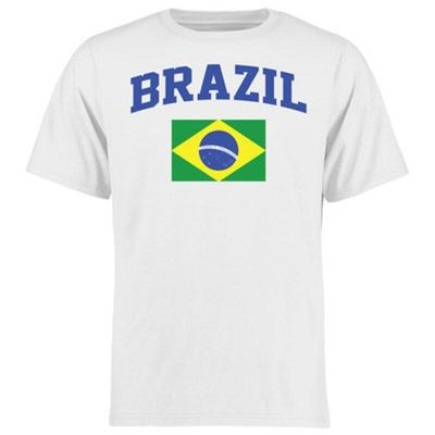 Brazil Youth Flag T-Shirt - White