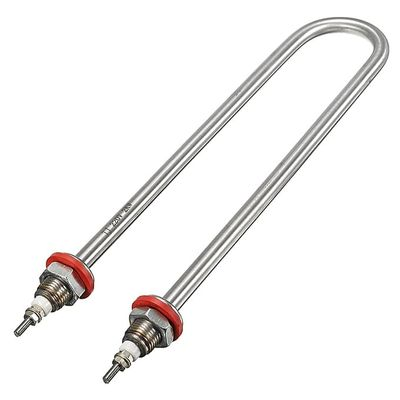 U Style Stainless Steel Water Heater Electric Tube Heating Element AC220V 2000W
