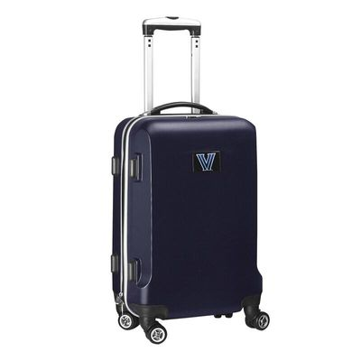 Villanova Wildcats 20In 8-Wheel Hardcase Spinner Carry-On - Navy