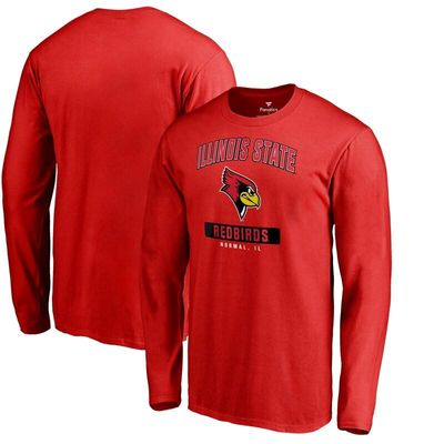 Illinois State Redbirds Big & Tall Campus Icon Long Sleeve T-Shirt - Red