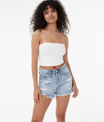 Aeropostale Seriously Soft Cropped Bungee Cami