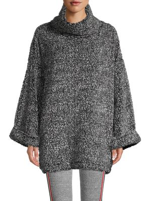 Kendall + Kylie Marled Cowlneck Sweater