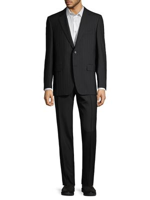 Canali Regular-Fit Pinstriped Wool Suit