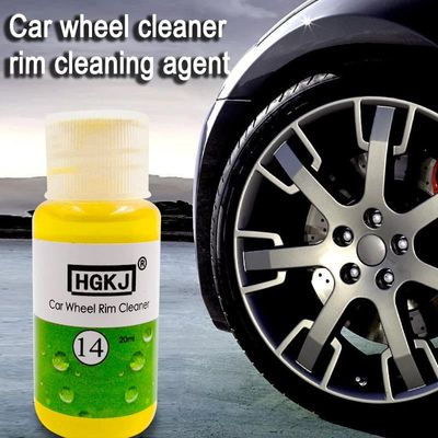HGKJ-14 20LM High Performance Auto Wheel Detergent Dropshipping Universal Liquid Car Tire Cleaning Rust Remove Agent TSLM1