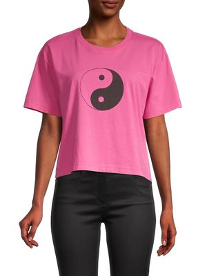 Rebecca Minkoff Courtney Yin Yang Graphic T-Shirt