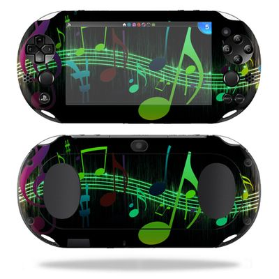 MightySkins Protective Vinyl Skin Decal for Sony PS Vita (Wi-Fi 2nd Gen) wrap cover sticker skins Notes